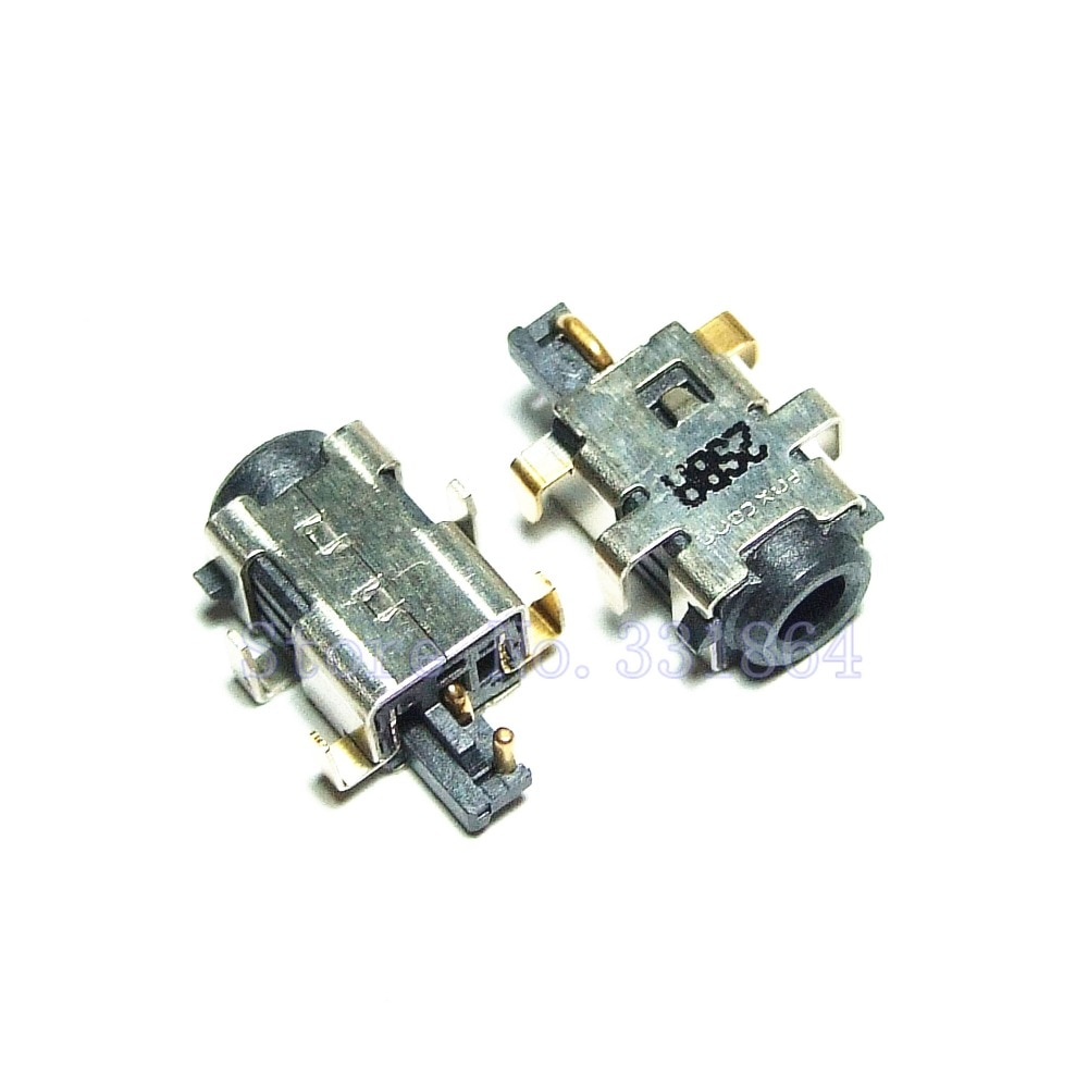 50 sztuk DC gniazdo zasilania do ASUS Eee PC X101 X101CH X101H R11CX ładowania laptopa złącze wtykowe