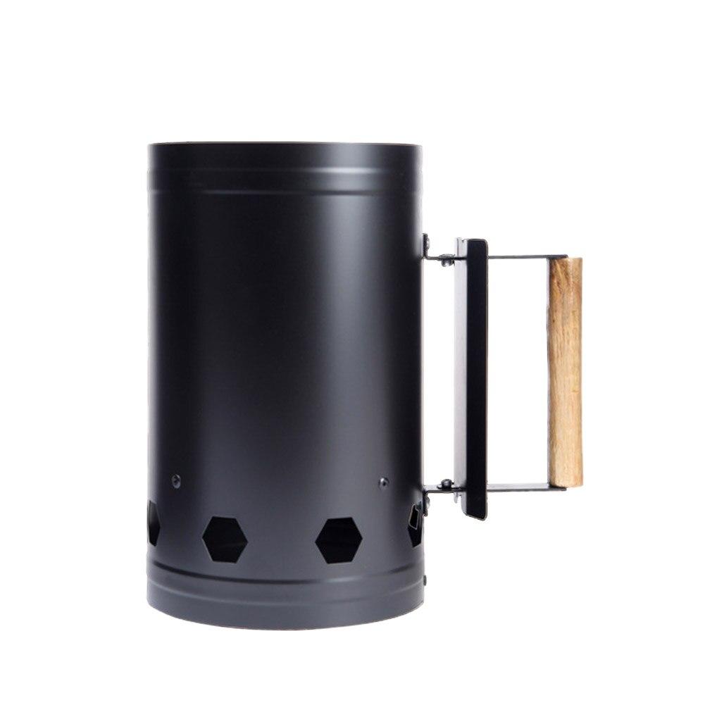 Herramientas de barbacoa de carbón encendido barriles de carbono estufa de barbacoa al aire libre herramientas de chimenea de parrilla Accesorios