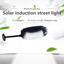 Luces de calle solares impermeables de 32led luces de lámpara de jardín al aire libre + sensores de movimiento lámpara Solar de pared de emergencia Luz de inundación de carretera de seguridad