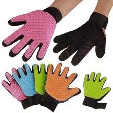 Silicone Pet brush Glove Deshedding Gentle Efficient Grooming Cat Glove Supplies Pet Glove Dog Accessories Supplies