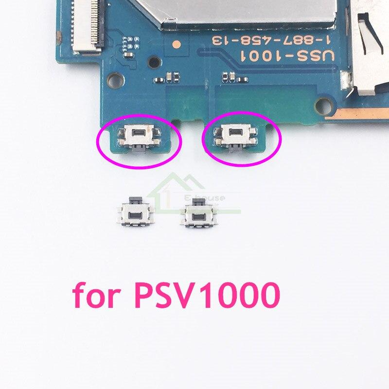 Repuesto de botón de ajuste de volumen para PS Vita 1000 2000 para placa base PSV1000 PSV2000, botón para cambio de volumen y reparación