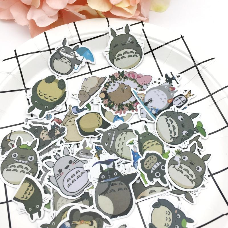 32 шт Милые Тоторо уплотнительные наклейки дневник этикетки наклейки пакет Декоративные Скрапбукинг DIY наклейки