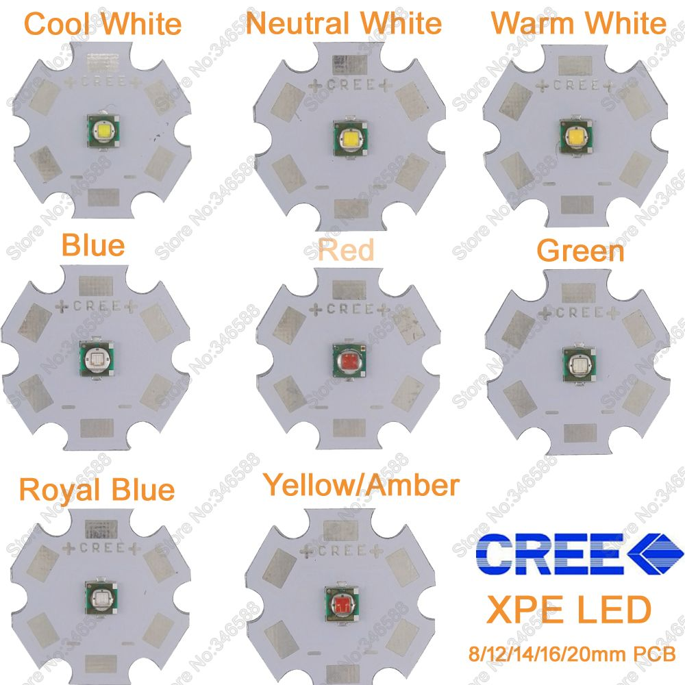 25pcs 3w cree high power led light emitting diode leds chip with aluminum star pcb warm white cold white red green blue yellow 5x 3W Cree XPE XP-E High Power LED Emitter Diode,Neutral White Cool White Warm White Red Green Blue Royal Blue Yellow with PCB