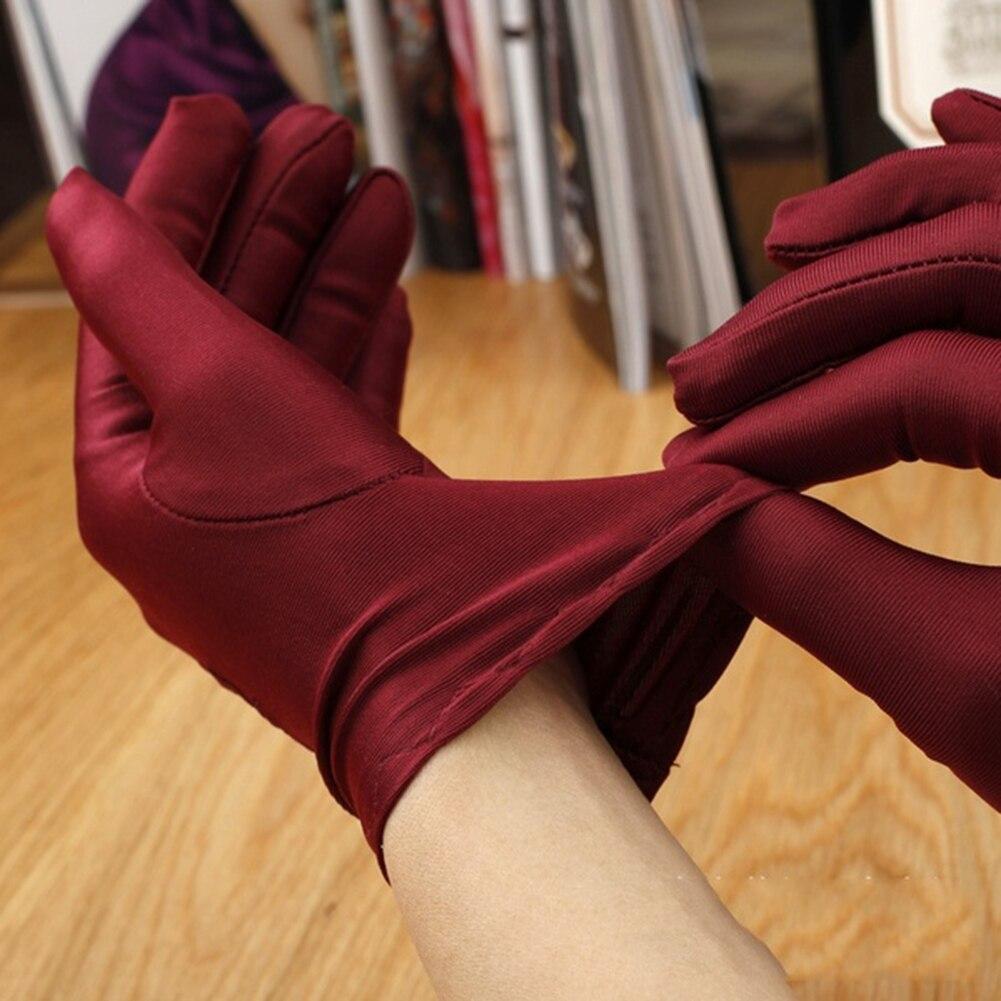 Gants de printemps pour la conduite automobile   A18, nouveaux nœuds, gants UV pour femmes, blanc, beige, noir, café, gris