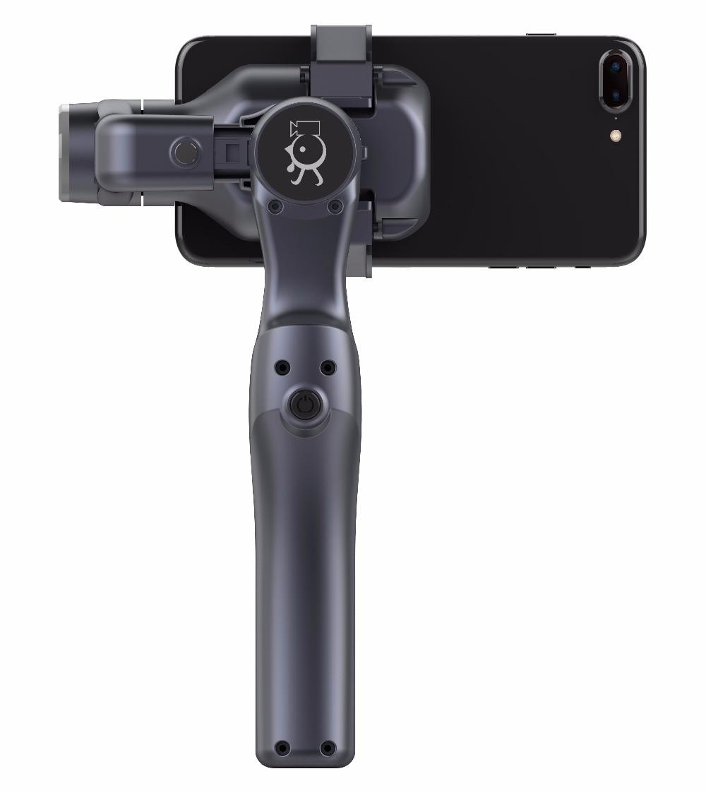 New XJJJ JJ-1S 2-axis Brushless Handheld Phone Stabilizer 330 Degree Smartphone Gimbal Holder Mount Built-in Bluetooth enlarge