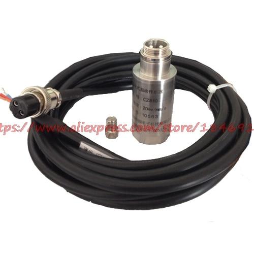 Vibration sensor The magnetoelectric vibration velocity sensor Passive vibration probe two wire vibration sensor