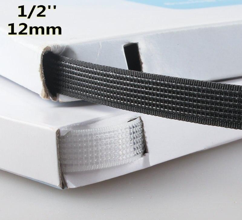 Poliéster/plástico deshuesado para accesorios de lencería 12mm 50 yardas poliéster/algodón