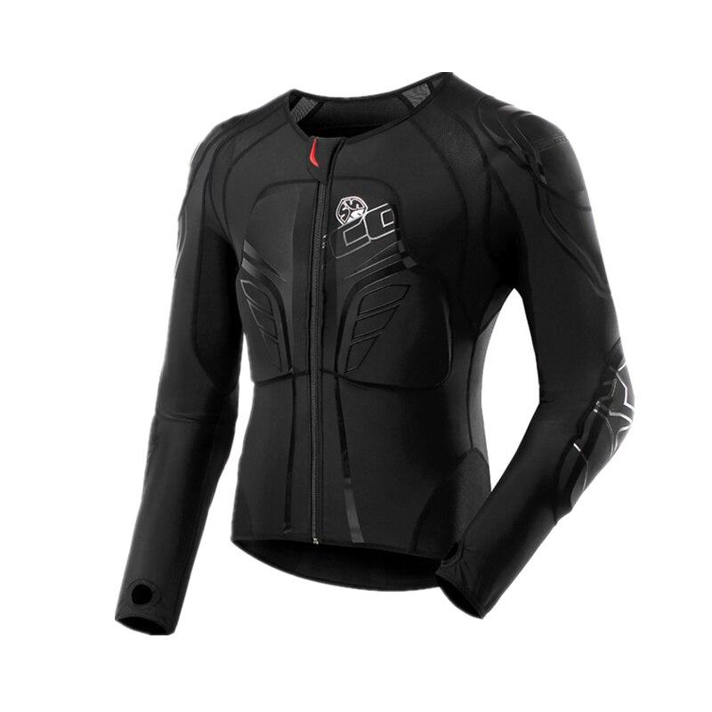 SCOYCO-درع للجسم لدراجة نارية السباق ، معدات واقية ، مادة ماصة ، ارتداد بطيء ، مسامي ، موتوكروس ، سترة قابلة للتمدد