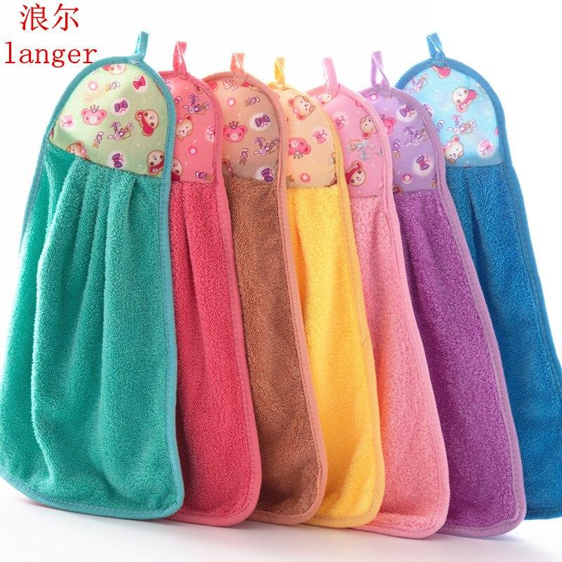 Los niños paño bebé alimentación del bebé toallas de cara arandelas mano de dibujos animados lindo limpiar paño de algodón para la alimentación de baño 3DBH27