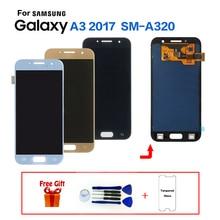 Display Für Samsung Galaxy A3 2017 A320 SM-A320F LCD Screen modul für SAMSUNG A3 2017 A320FL A320Y display bildschirm ersatz
