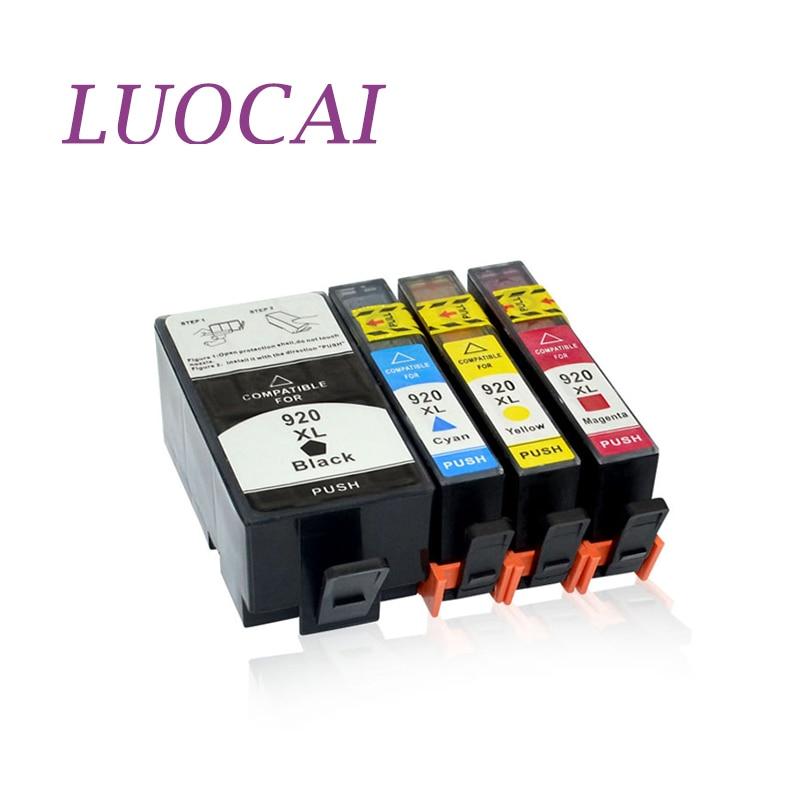 4 шт., картриджи для принтера HP920 920XL OfficeJet 6000 6500 6500 6500A /7000/7500/7500A