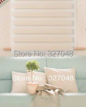 Persianas baratas populares de cebra/persianas eléctricas/persianas enrollables de doble capa/cortina de tela cortina de ventana