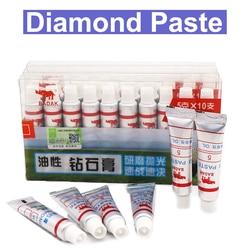 Urann pasta de polimento de diamante, agulha para polimento de vidro, metal, polimento, ferramenta de agulha abrasiva 320, 1 peça 10000-W0.5-W40