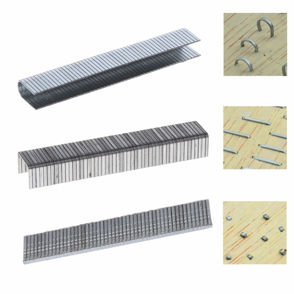 1000 PCs T shape/U shape/ Door Shape nails for nail gun 12*6.3 mm Nails For Staple Gun Stapler