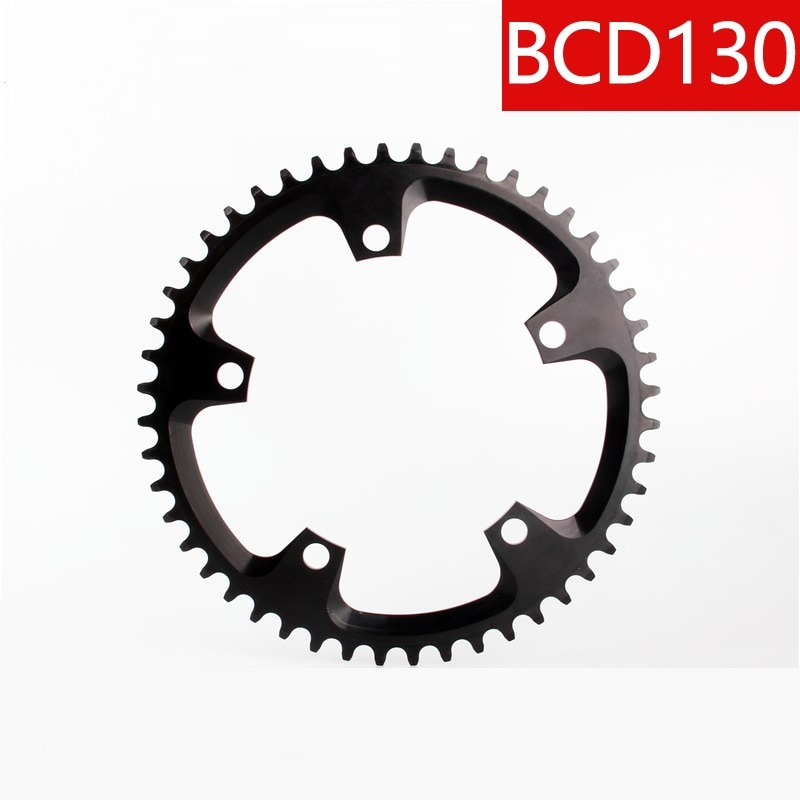Faltrad Kette ring Kette rad BCD130 38T 40 50 58 60T Engen Breite Kreis 1 x system 9 zu 12 geschwindigkeit narrow wide bike chainring11 speed -