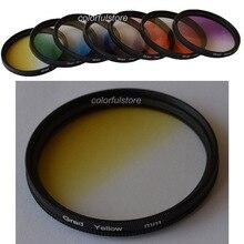 62 62mm 1 pièces graduel progressif 7 couleur lentille filtre pour Canon 70D 60Da 60D 50D 40D 30D 20D 10D 1D 7D 6D 5D Mark III II 5DIII 5DII