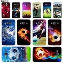 Sheli Sport Football Étui pour Téléphone Portable pour Samsung Galaxy J1 J2 J3 J4 J5 J6 J7 J8 2015 2016 2017 2018 J7 Premier j4 Plus Ace