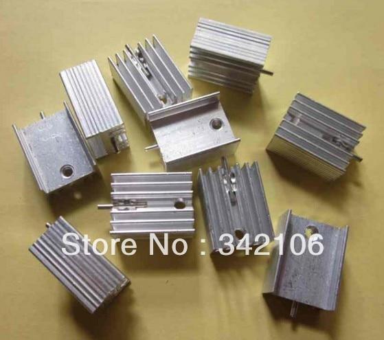¡Envío gratis! Disipador térmico de aluminio 20 piezas 211510mm para TO-220 TO220 7805 7812