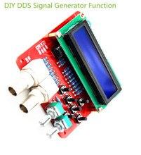 Генератор сигналов с функцией DDS, набор для самостоятельной сборки, генератор частоты, прямоугольная пила, треугольная волна, детали для сборки, источник сигнала, компоненты