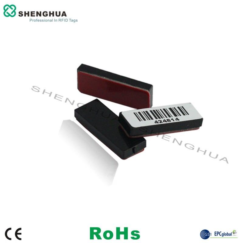 Etiqueta UHF RFID de 10 Uds para hardware de arma de superficie metálica, placa de cerámica 18000-6c american standard (902-928 mhz)