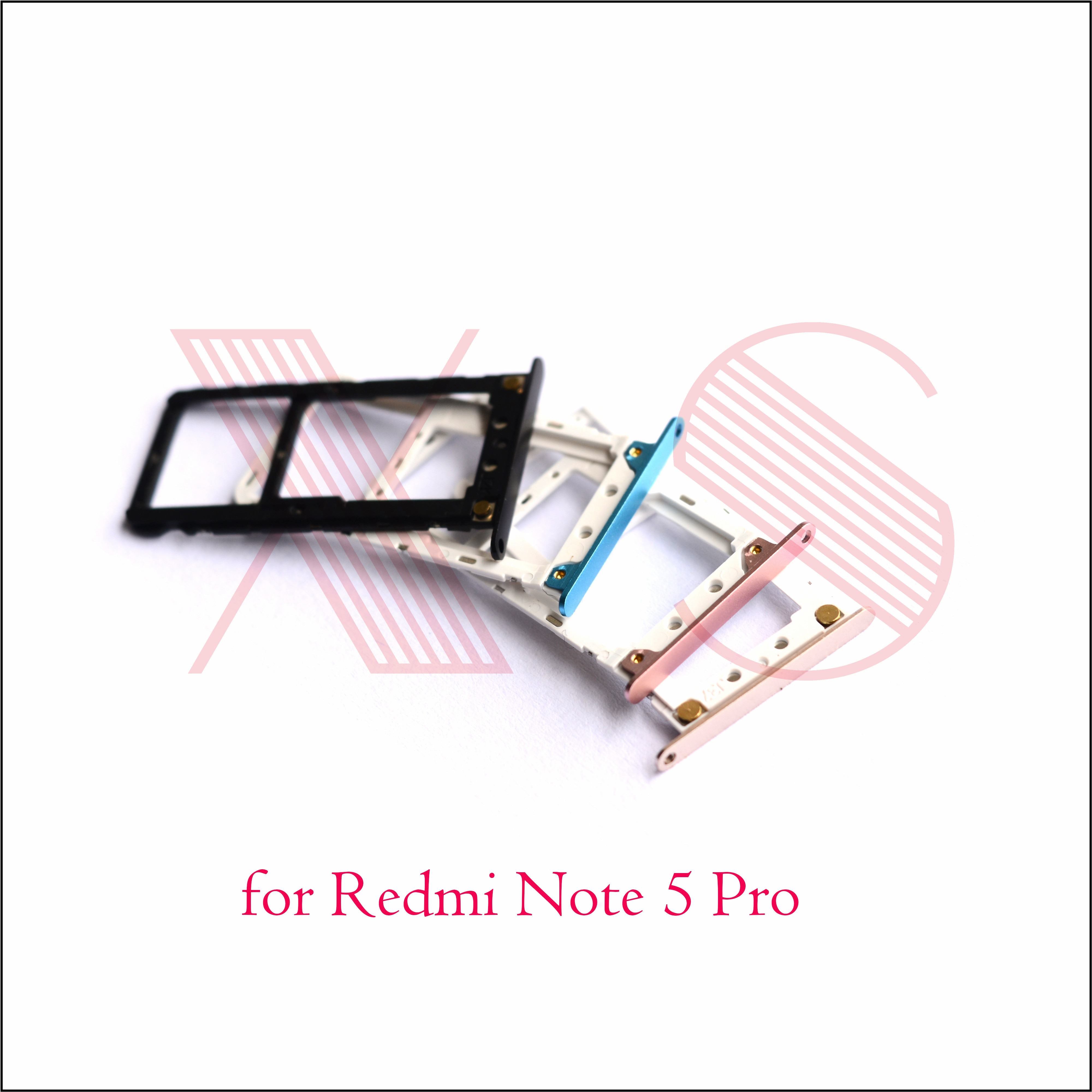 Soporte para tarjeta Micro SIM/bandeja de tarjetas Micro SIM, adaptador de ranura para tarjeta Micro SD para Xiaomi Redmi Note 5 /Pro /Prime duam Cámara AI 636CPU