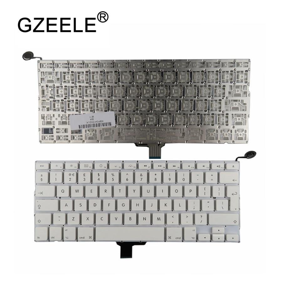 GZEELE-لوحة مفاتيح لاسلكية لجهاز Apple Macbook 13