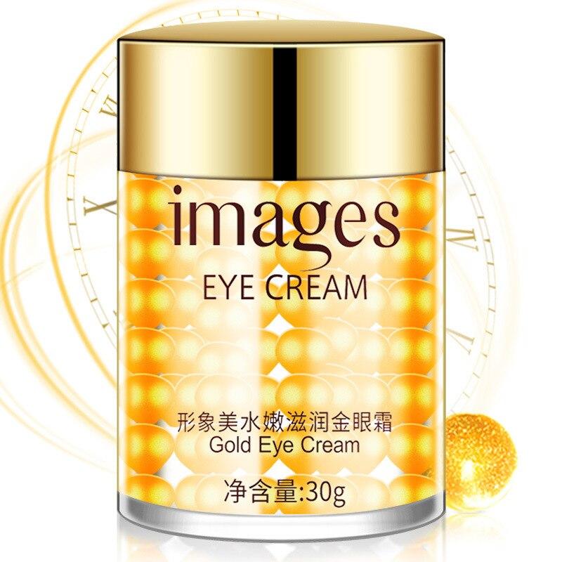 Изображения коллагеновый крем для глаз Gold Eye увлажняющий гель для глаз для удаления мешков для глаз против отечности темные круги уход за морщинами
