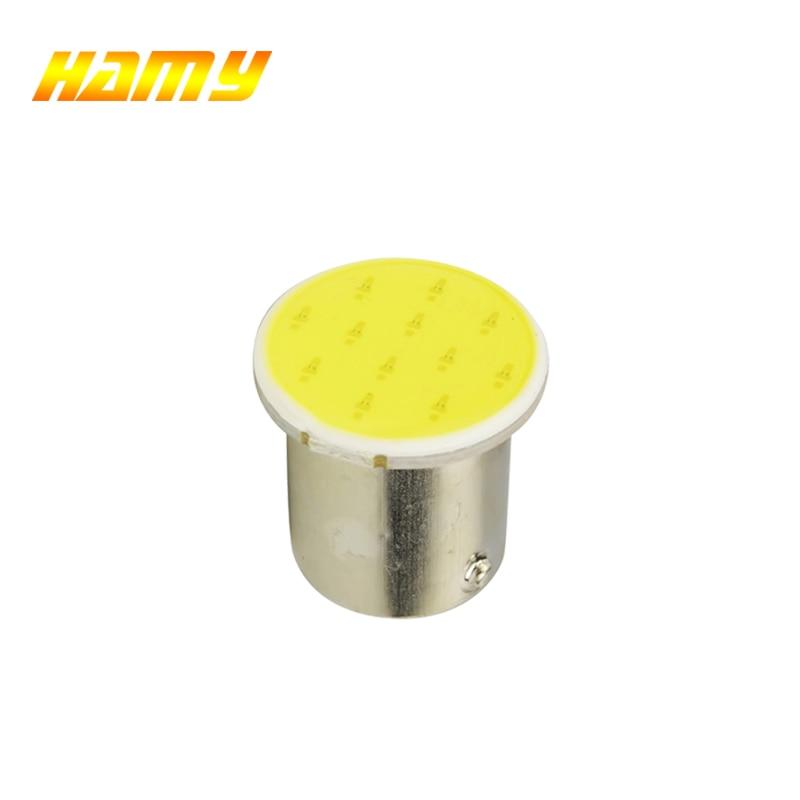 1x S25 P21W 1157 Bay15d 1156 BA15S COB автомобильная светодиодная лампа для мотоцикла Поворотная лампа заднего хода стояночный стоп-сигнал рулевой привод красный