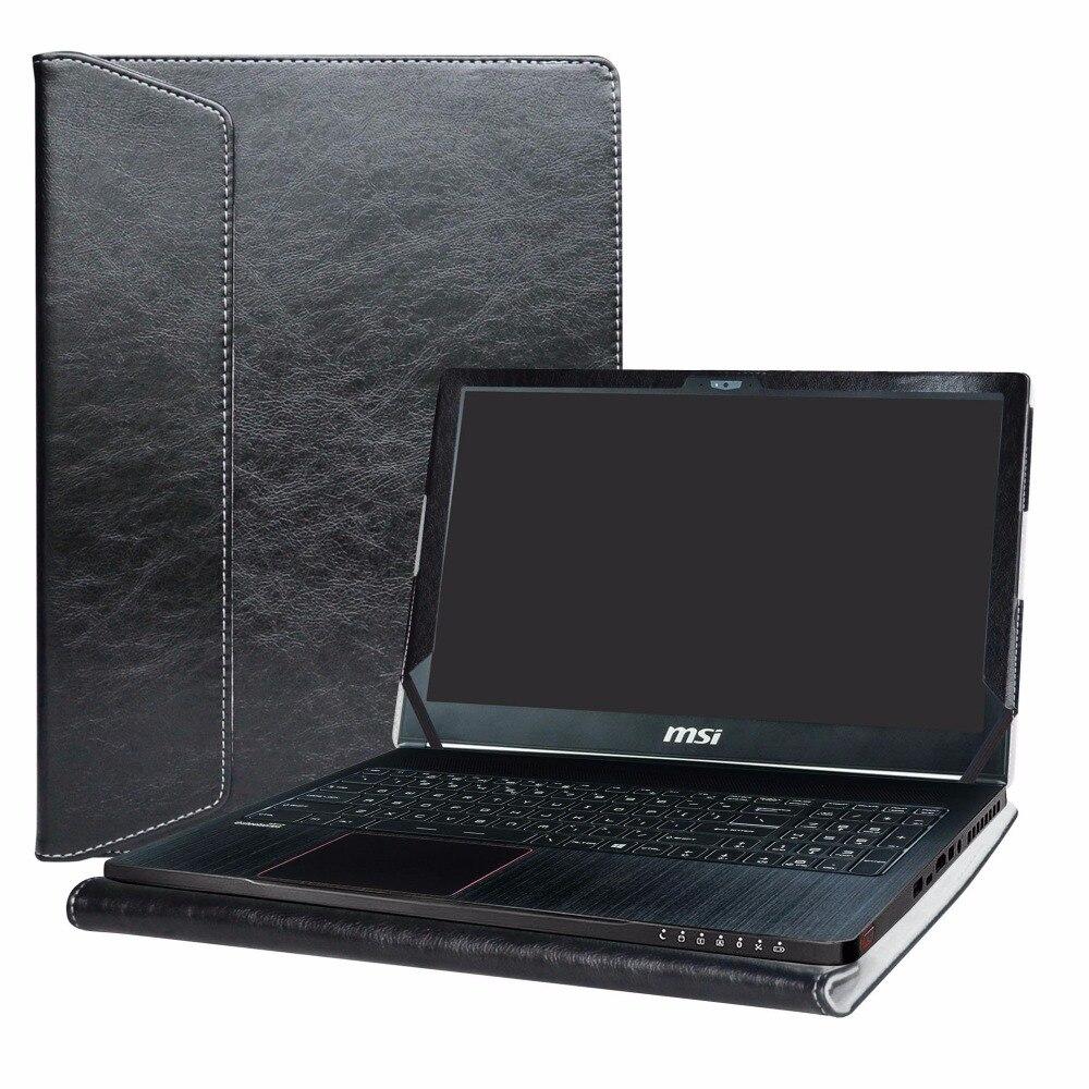 Alapmk-حافظة غطاء للكمبيوتر المحمول ، 15.6 بوصة MSI GS Series GS63 Stealth-010 / STEALTH-060 & Stealth Pro GS63VR STEALTH-252