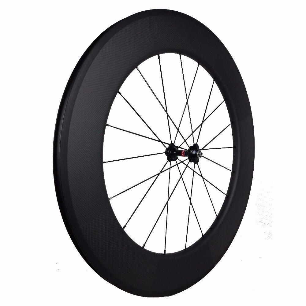 Aero bicicleta rodas 700c 88mm clincher carbono 23mm largura bicicletas de estrada exportando reino unido/british bicicleta loja com powerway r13 & r36 cubos