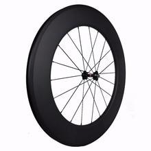 Roues de vélo Aero 700C 88mm pneu carbone 23mm largeur vélos de route exportant un magasin de vélo britannique/britannique avec moyeux powerway r13 & r36