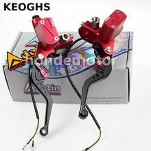 Keogh-levier de frein de moto   Adelin Px6 pompe à embrayage de frein de moto, poignée de levier, pour Yamaha Kawasaki Suzuki