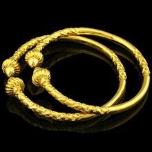 Bracelets en or pour femmes/hommes couleur or bijoux éthiopien/africain/arabe Bracelet Bracelet cadeau