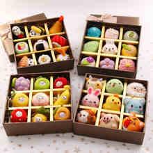Birthday gift box creative wool felt Fruit sushi cartoon diy handmade student Non-Finished Felt Material DIY Package