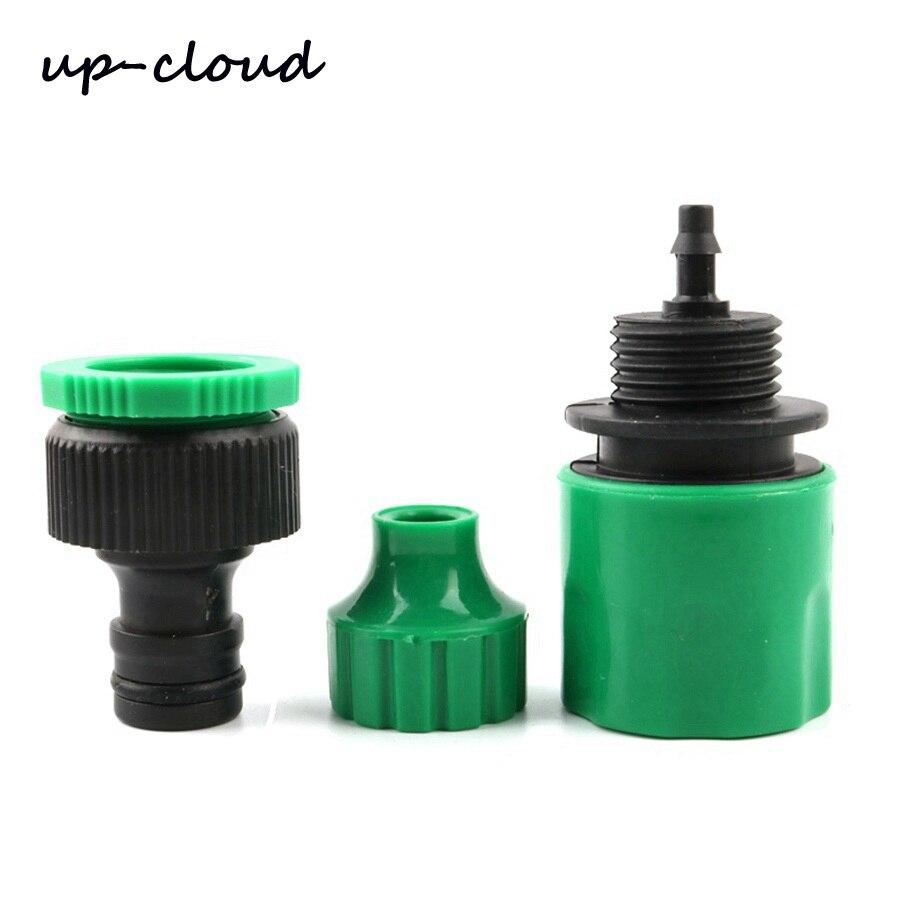"""1 Juego de manguera de jardín de 1/2 """"-4/7mm conector para grifo rápido adaptador microrriego por goteo de jardín diámetro interior 4mm junta de tubería"""