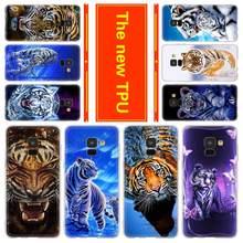 Phone for Samsung Galaxy J6 J4 Plus J8 J3 J7 2018 J5 J3 j7 2017 2016 j6 Prime Cover Case animal tiger Cub