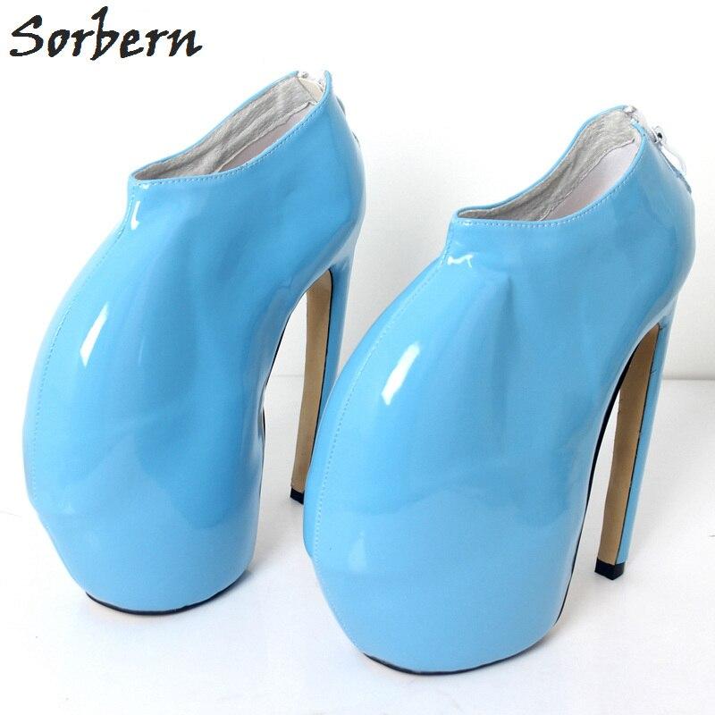 Gaga-حذاء نسائي بكعب عالٍ ، حذاء رياضي بكعب عالي ، عصري ، بديل ، للجنسين