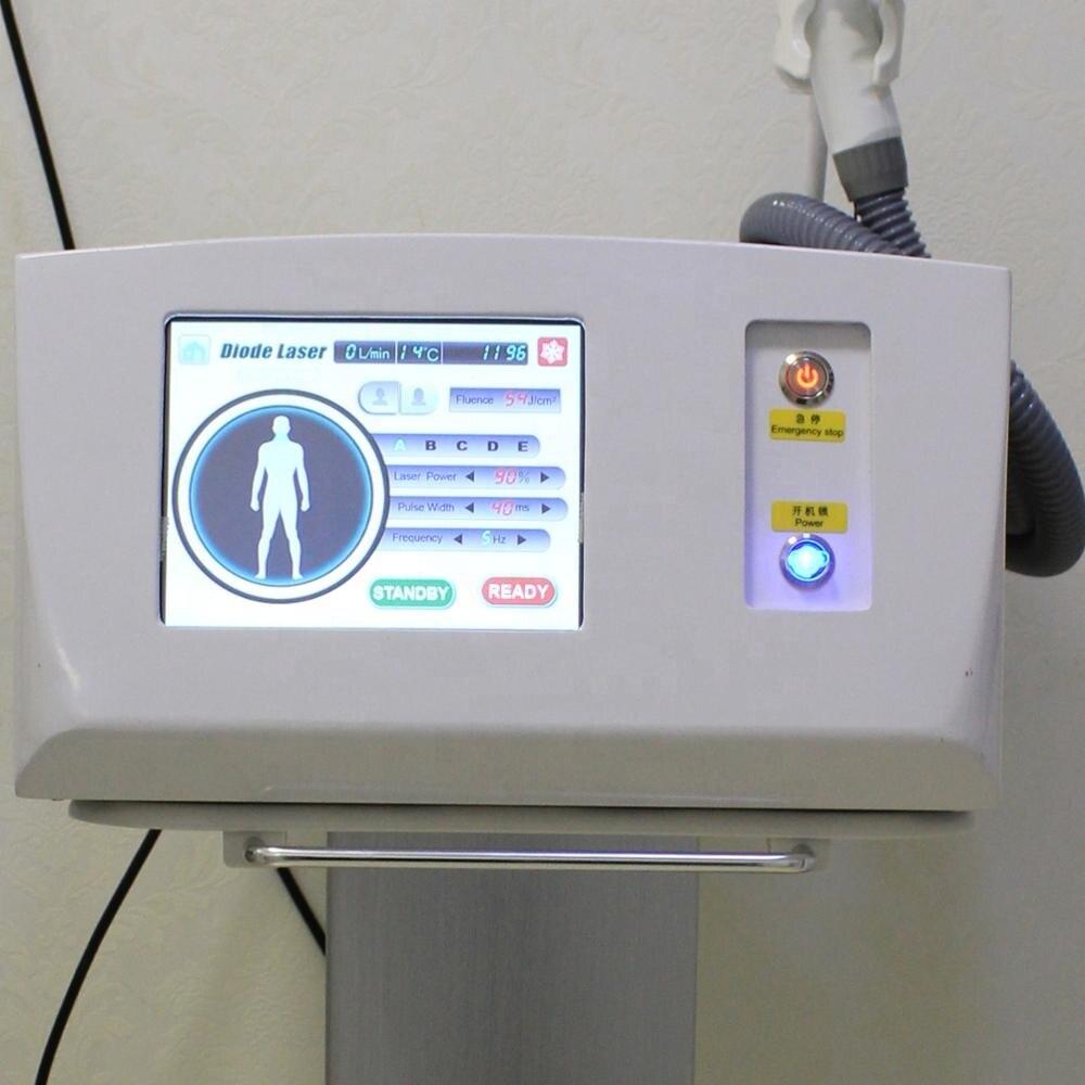 Machine dépilation au laser à puce importée sans canal 808nm diode laser