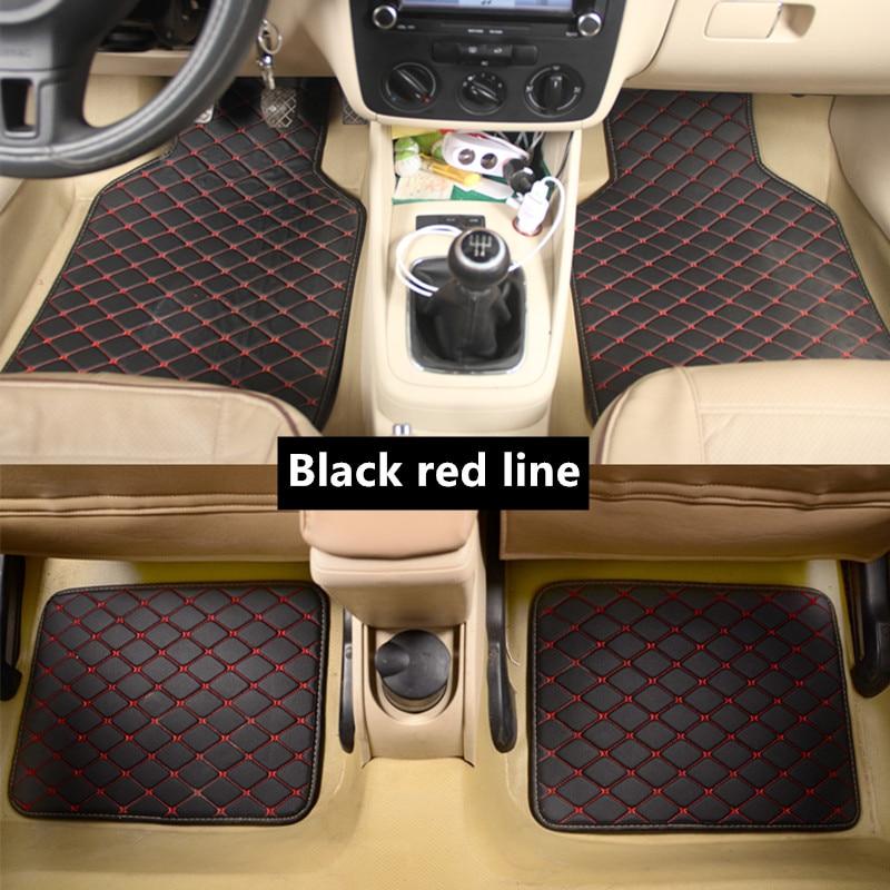 Универсальный автомобильный коврик для Nissan VERSA Sedan Latio Sunny 2012 2018 автомобильные