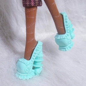 1/6 Fashion Doll Shoes High Heel Sandals Doll Accessories sandals shoes For Monster High Doll, Children kids toys Girls Gift