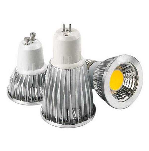 Super brillante 9W 12W 15W GU10 bombillas de luz Led 110V 220V regulable LED COB focos cálido/Natural/blanco frío E27 E14 MR16 lámpara Led