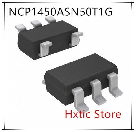 Nuevo 50 unids/lote NCP1450ASN50T1G NCP1450ASN50 NCP1450 LDO marcado DBDO SOT23-5