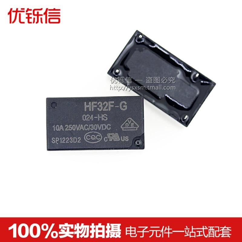 HF32F-G-024-HS original relay JZC-32F-G-024-HS 10A