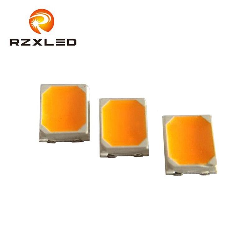 4000 قطعة/الوحدة 0.5 واط 2835 LED الفوسفور تحويل العنبر 1800 كيلو 3 فولت 150ma ل مصباح على شكل شمعة بدوره إشارة Blub