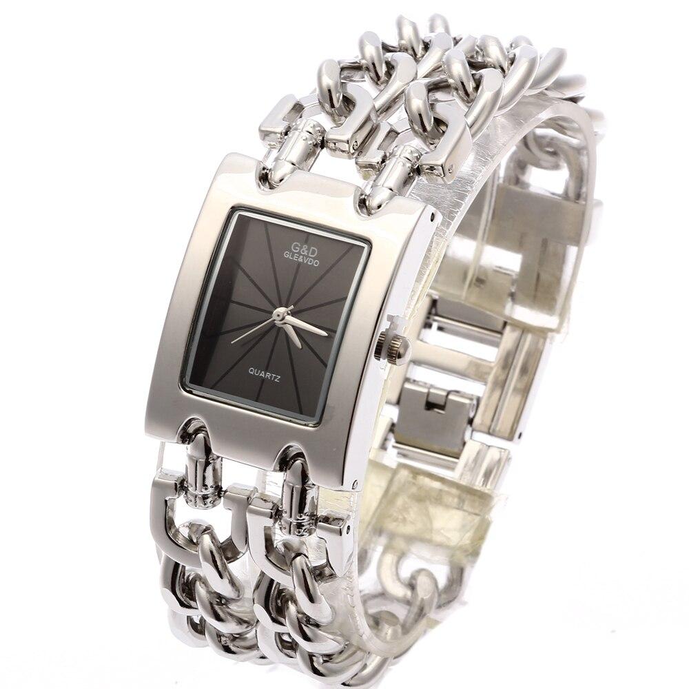 G&D Luxury Golden Women's Quartz Wristwatch Women's Bracelet Watch Relogio Feminino Women Dress Clock Reloj Mujer Jelly Gifts enlarge