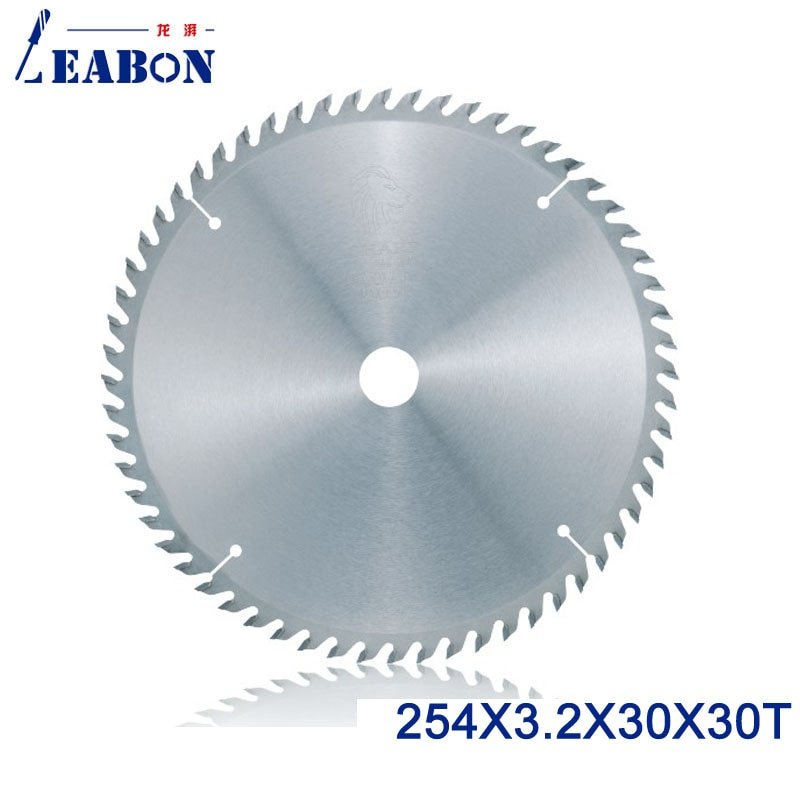 LEABON 254 мм TCT лезвие пилы 254*3,2*30*60 T (ATB зубы) деревообрабатывающее круглое лезвие пилы для деревообрабатывающей резки