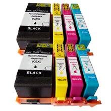 903 cartouche dencre compatible pour HP 903 XL pour hp 903 907xl OfficeJet 6950 6960 6963 6964 6965 6966 6968 6970 6975 E211