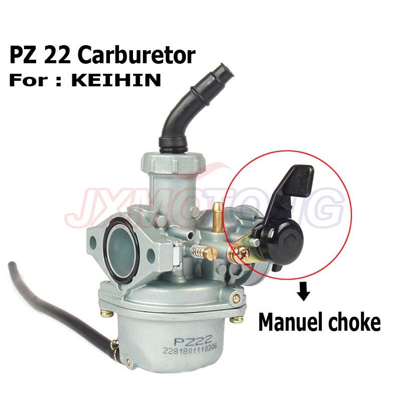 PZ22 карбюратор 22 мм Carb SunL JCL Baja TaoTao Quad 2/4 тактный PZ00 1100cc 125cc китайский ATV Байк с кабелем Дроссельный рычаг