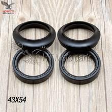 Front Fork Damper oil seal dust cover For Honda CBR600 F4 VFR800A CBR900RR CB1000R CBR1000RR CBR1100XX Blackbird CRF 250 XR400