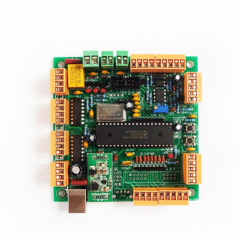 4-осевой usb-контроллер с ЧПУ, интерфейсная плата CNCUSB MK1 USBCNC 2,1
